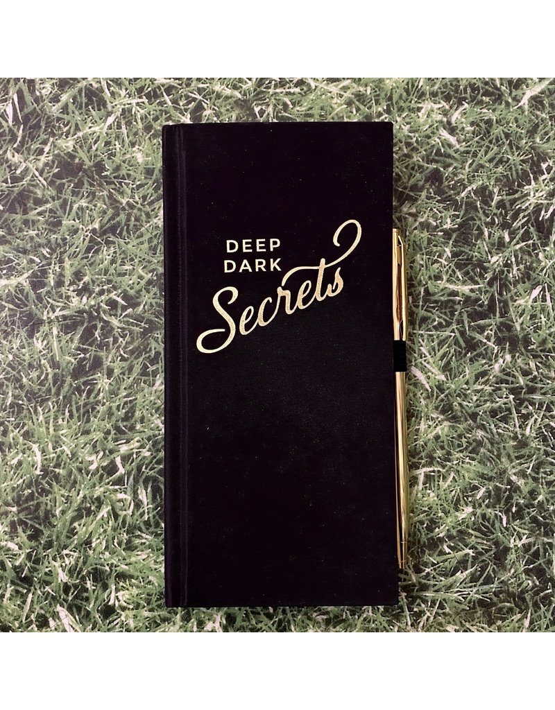 Eclectic Life Deep Dark Secrets Notebook And Pen