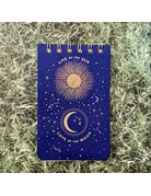 Eclectic Life Live By The Sun Blue Notepad
