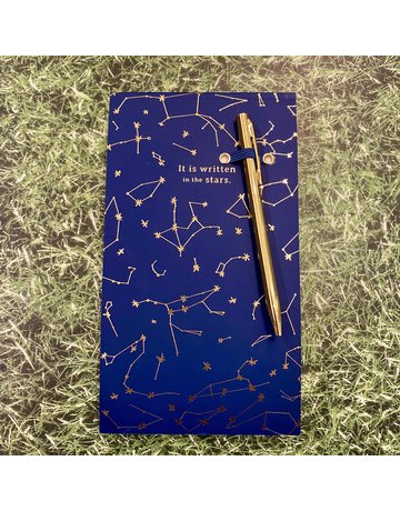 Eclectic Life Written In The Stars Notepad And Pen