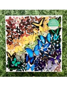 Galison 500 Piece Rainbow Butterfly Puzzle