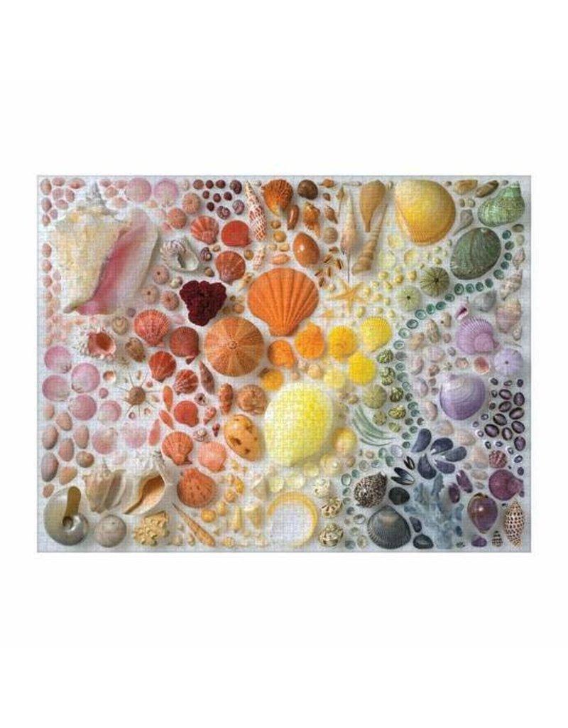 Galison 2000 Piece Puzzle Rainbow Shell