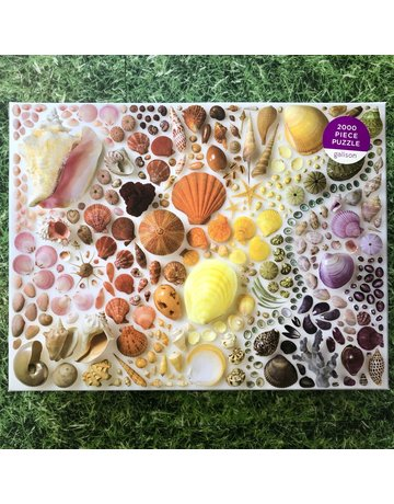 Galison 2000 Piece Rainbow Shell Puzzle