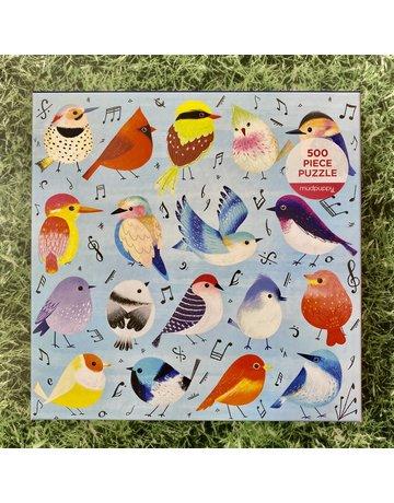 Galison 500 Piece Songbirds Puzzle
