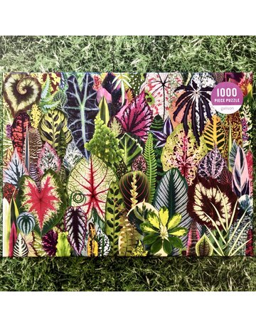 Galison 1000 Piece Houseplant Jungle Puzzle