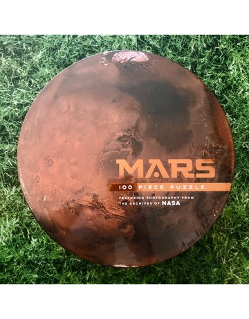 Galison 100 Piece Mars Shaped Puzzle