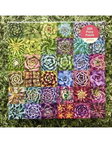 Galison 500 piece Succulent Spectrum Puzzle