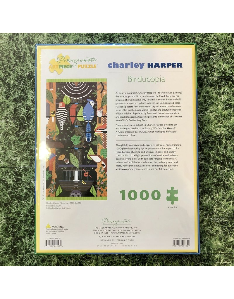Pomegranate Charley Harper Birducopia 1000 Piece Puzzle