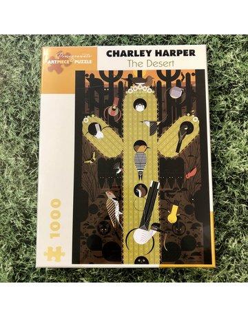 Pomegranate 1000 Piece Puzzle Charley Harper The Desert