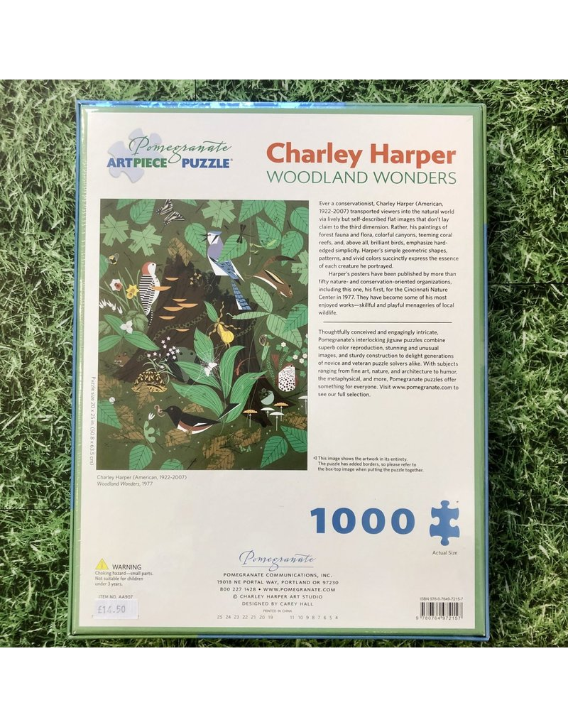 Pomegranate Charley Harper Woodland Wonders 1000 Piece Puzzle
