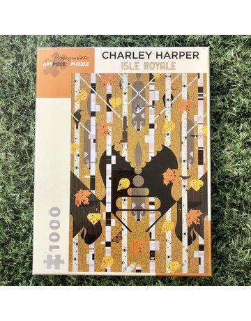 Pomegranate Charley Harper Isle Royale 1000 Piece Puzzle