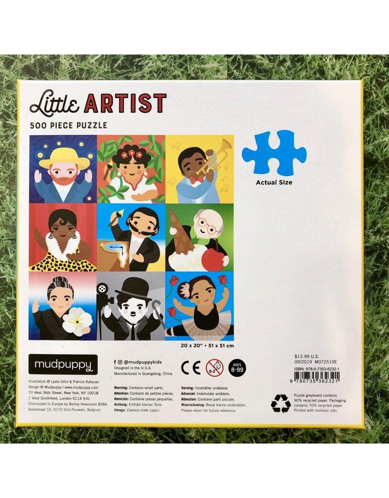 Galison 500 Piece Little Artist Puzzle