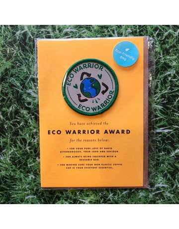 OhhDeer Eco Warrior Patch Card
