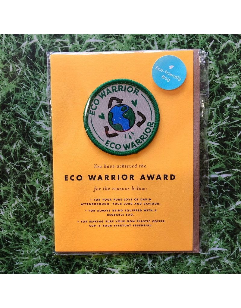Ohh Deer Patch Card Eco Warrior