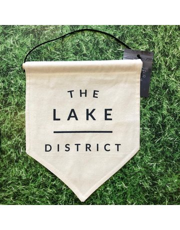 Darwin & Gray Cotton Banner 'The Lake District'