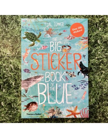Thames&Hudson Big Sticker Book of the Blue