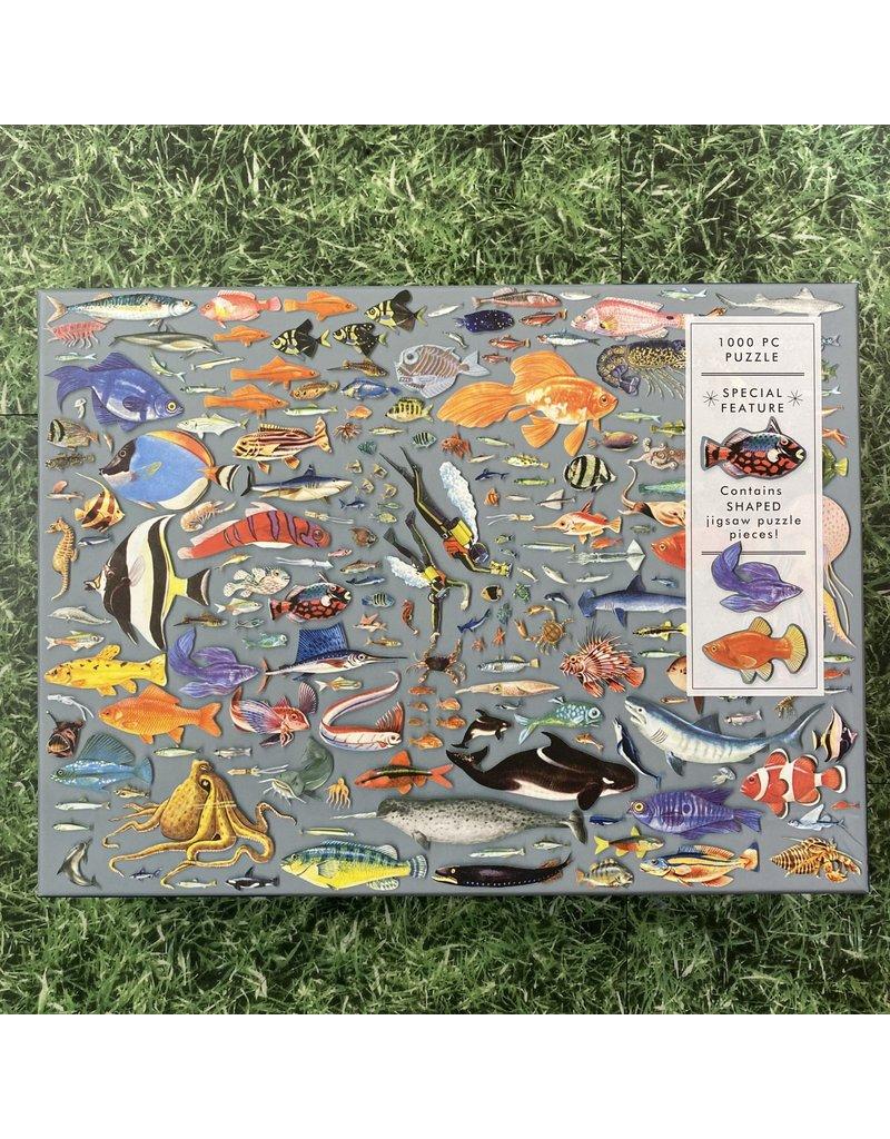 Galison 1000 Piece Puzzle Deepest Dive