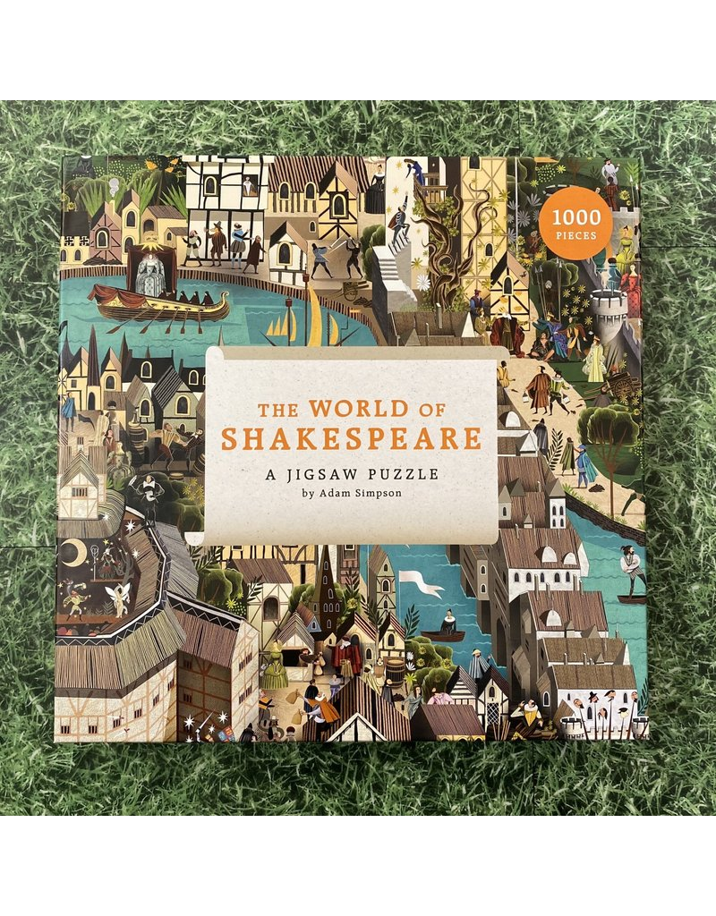 Laurence King 1000 Piece Puzzle The World Of Shakespeare