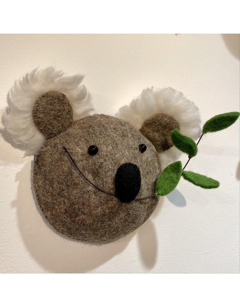 Fiona Walker Mini Koala Felt Head