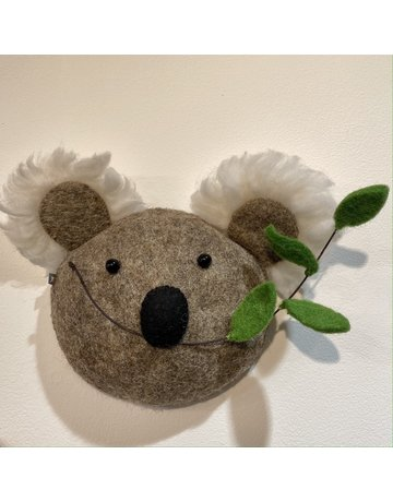 Fiona Walker Mini Koala Felt Head