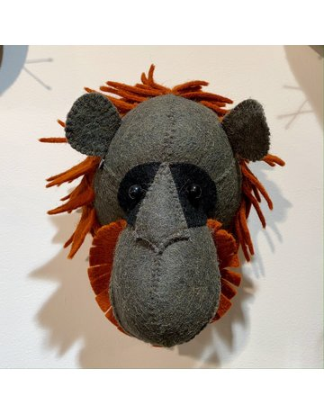 Fiona Walker Mini Orangutang Felt Head