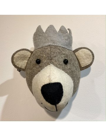 Fiona Walker Mini Baby Bear Felt Head