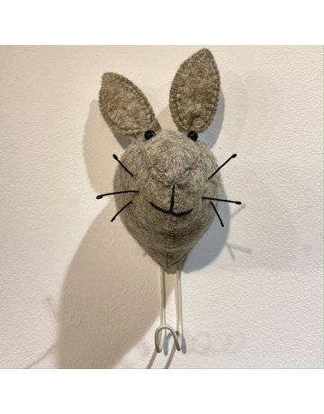 Fiona Walker Wall Hook Felt Hare
