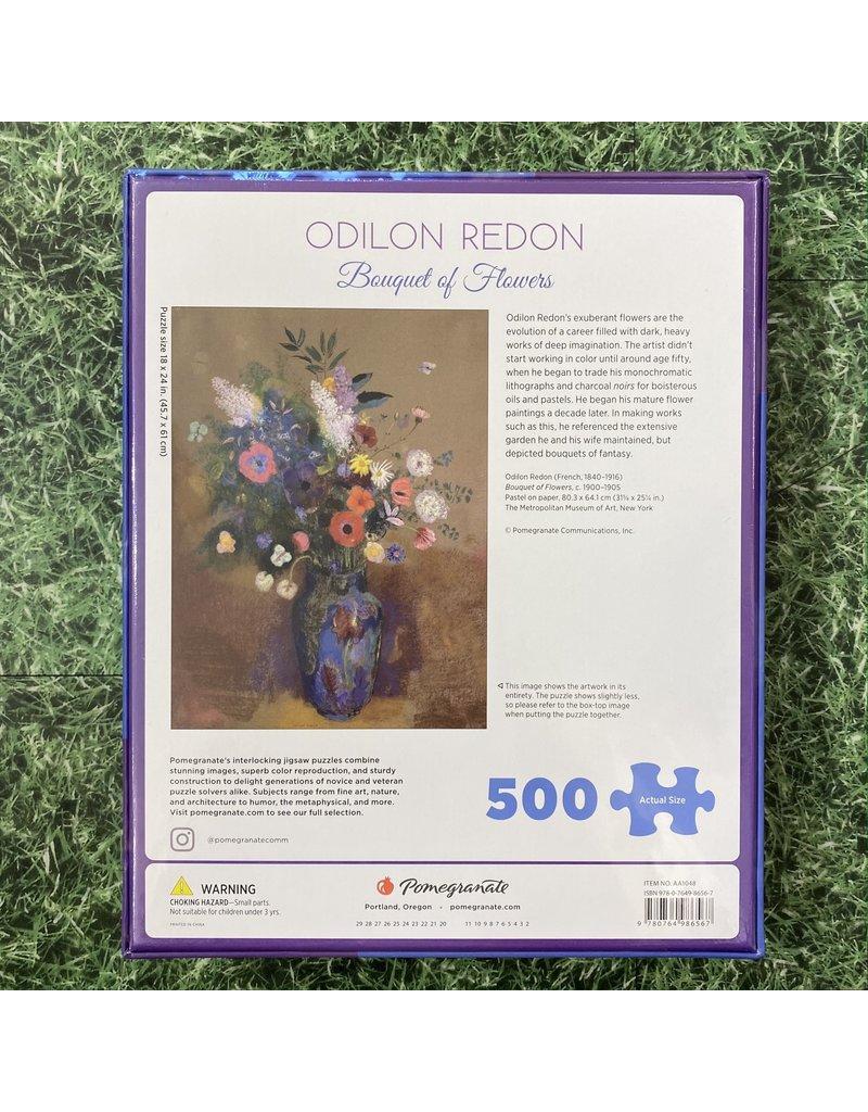 Pomegranate 500 Piece Puzzle Bouquet Of Flowers