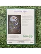 Pomegranate 500 Piece Puzzle Colourful Wild Owl