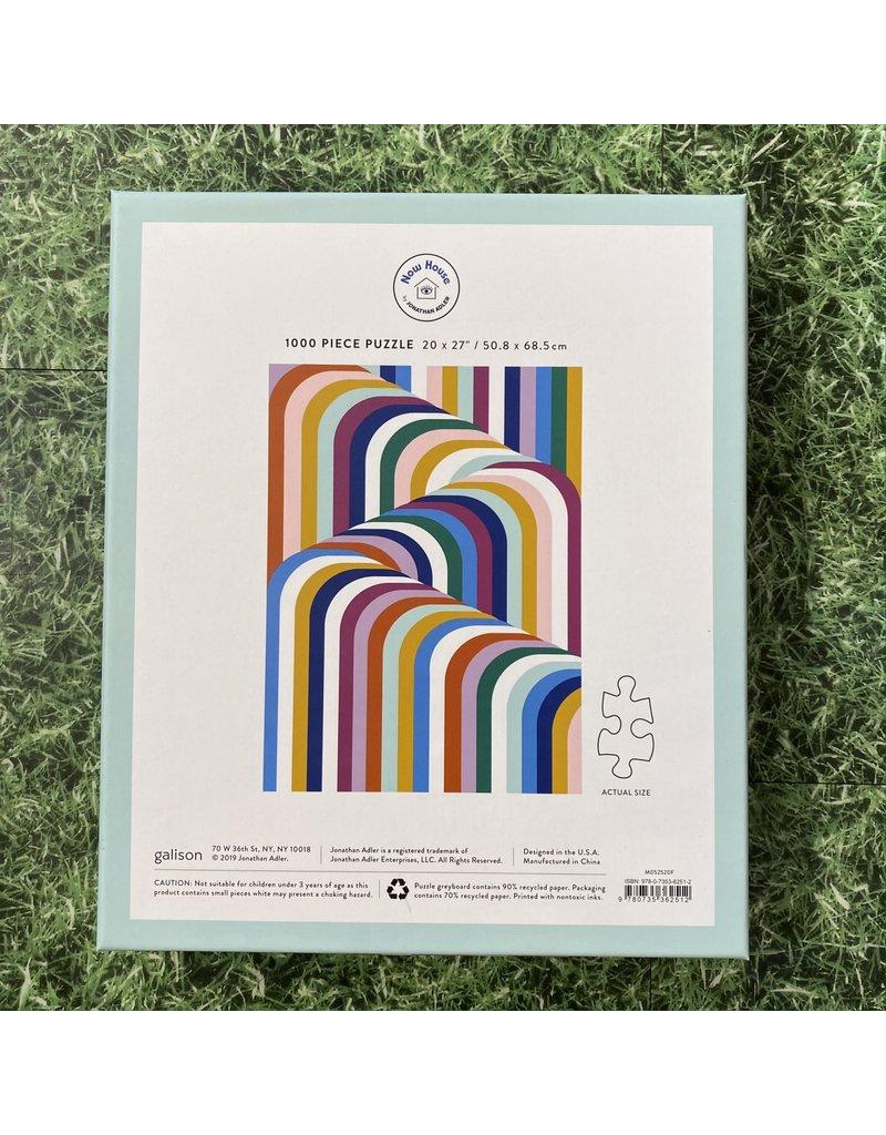 Galison 1000 Piece Now House Vertigo Puzzle Jonathan Adler