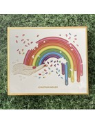 Galison 750 Piece Shaped Rainbow Hand Jonathan Adler Puzzle
