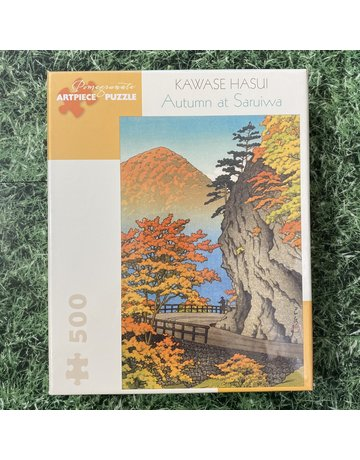 Pomegranate 500 Piece Puzzle Autumn At Saruiwa