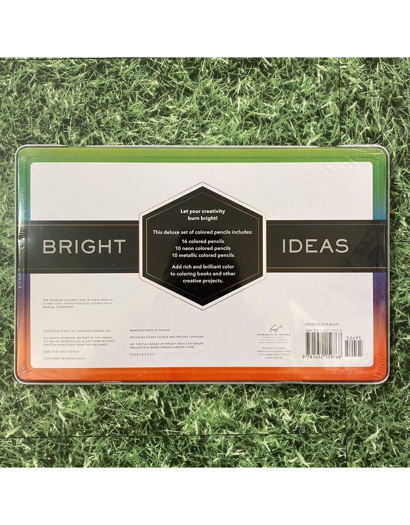 Chronicle Books Bright Ideas Deluxe 36 Pencil Set