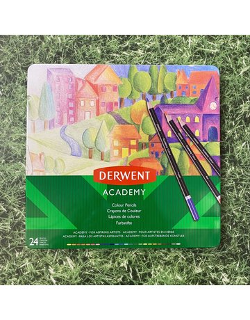 Derwent Derwent Academy Tin 24 Colouring Pencils