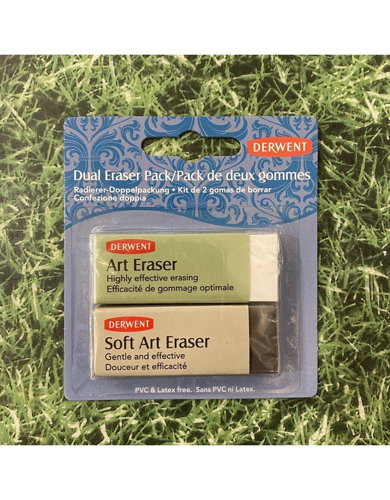 Derwent Derwent Duel Eraser Set