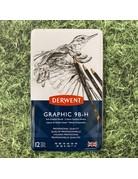 Derwent Derwent Graphic Tin 12 Pencils Soft