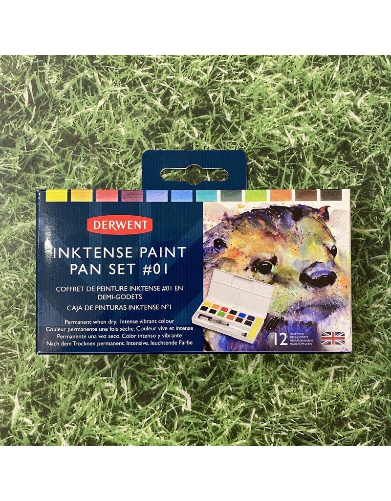 Derwent Derwent Inktense Paint Travel Set