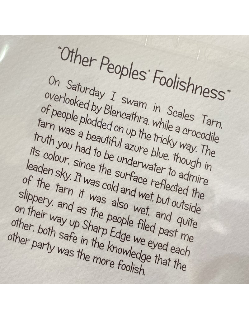 Nancy Farmer Nancy Farmer Card Other People's Foolishness'