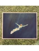 Nancy Farmer Nancy Farmer Print 'Into The Blue' A3
