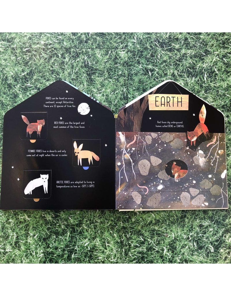 Bookspeed Animal Homes Flap Book