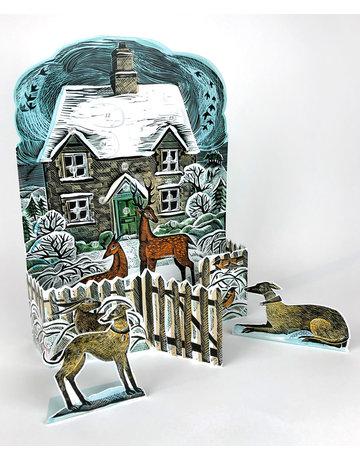 Art Angels Winter Cottage Advent Calendar