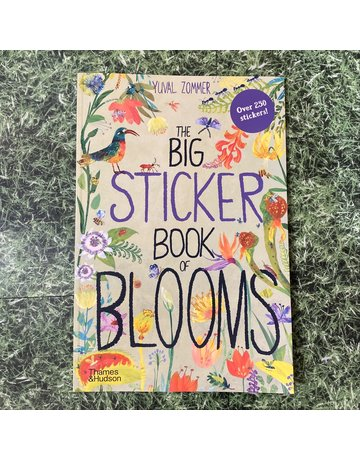 Thames&Hudson Big Sticker Book of Blooms