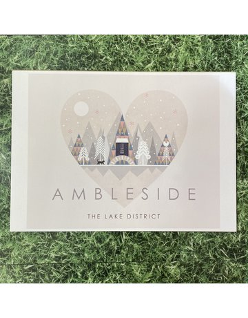 Hilberry Designs A4 Print Ambleside