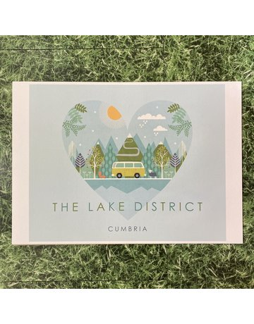 Hilberry Designs A4 Print The Lake District