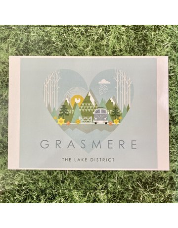 Hilberry Designs A4 Print Grasmere