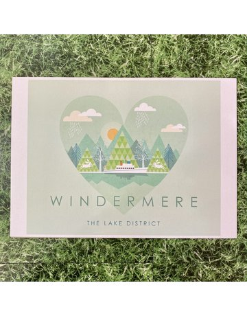 Hilberry Designs A4 Print Windermere