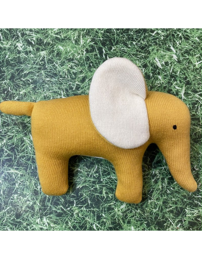 Best Years Yellow Knitted Elephant Small