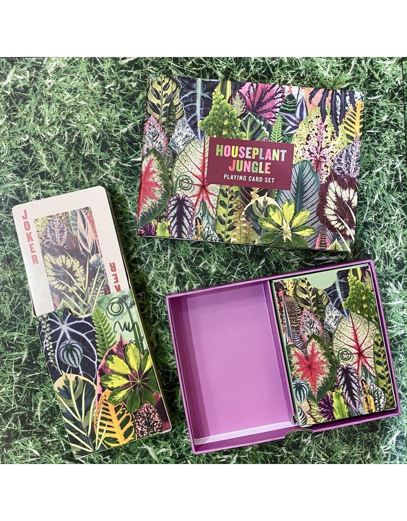 Galison Houseplant Jungle Playing Cards