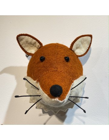 Fiona Walker Mini Fox Felt Head