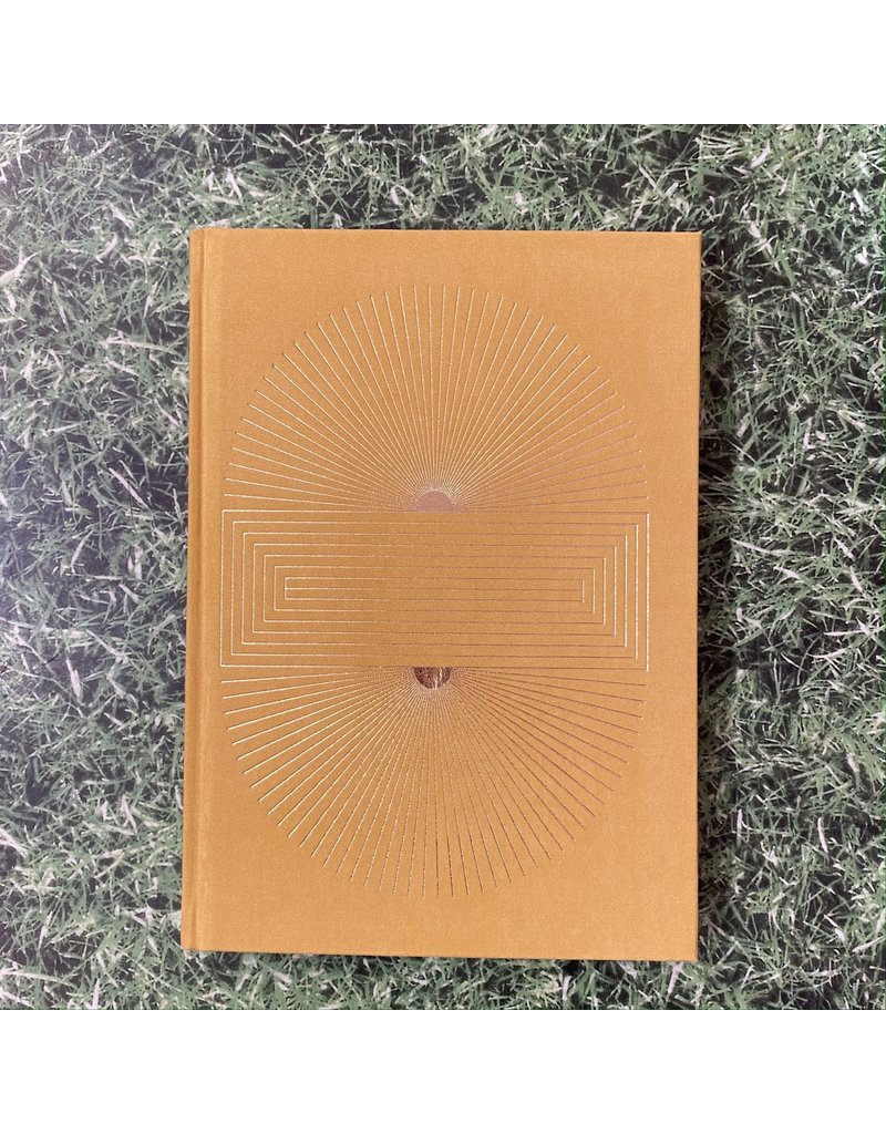 Eclectic Life Radiant Sun Yellow Suede Notebook