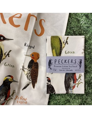 Sarah Edmonds Peckers Teatowel